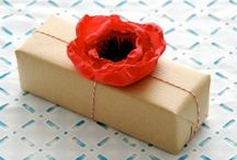 Wrapping / Gift idea / Favor