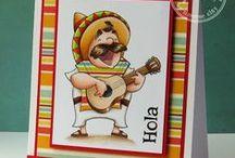 Let's Fiesta! / SugarPea Designs - Let's Fiesta! Stamp Set Inspiration
