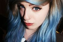 Hair color trends / Color my world