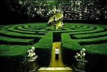 ~ Gardens: aMaze & Gaze ~ / Labyrinths,  Corn Mazes, Manicured Lawns / by Insharinga