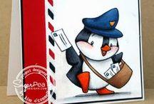 SugarCuts - Air Mail Set / SugarPea Designs - SugarCuts - Air Mail Set Die Inspiration