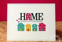 SugarCuts - Home Sweet Home / SugarPea Designs - SugarCuts - Home Sweet Home word die Inspiration