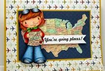 Going Places / SugarPea Designs - Going Places stamp set Inspiration