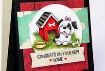 Hot Diggity Dog / SugarPea Designs: Hot Diggity Dog stamp set Inspiration Board