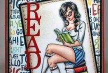 I Like BIG Books / SugarPea Designs - I Like BIG Books stamp set Inspiration Board