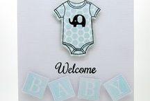 SugarCuts - Welcome Baby Accents / SugarPea Designs - SugarCuts - Welcome Baby Accents die Inspiration board