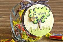 Bee My Honey / SugarPea Designs - Bee My Honey stamp set Inspiration Board
