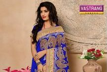 Printed Saree / Best Collection of printed saree from Vastrang