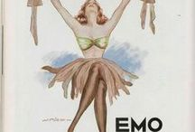 vintage lingerie ads / ads for lingerie and swimwear from the good old days ...
