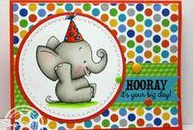 Tons of Fun / SugarPea Designs - Tons of Fun stamp set inspiration board
