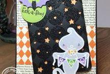Eek-A-Boo / SugarPea Designs - Eek-A-Boo Stamp Set Inspiration Board