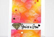Sparkle & Shine / SugarPea Designs - Sparkle & Shine Stamp Set Inspiration Board