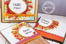 Funky Wreaths - All Seasons / SugarPea Designs - Funky Wreaths - All Seasons Stamp/Die Set Inspiration Board