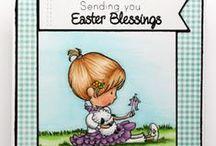 Easter Blessings / SugarPea Designs - Easter Blessings stamp set inspiration board