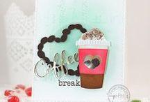 Caffeine Addict / SugarPea Designs - Caffeine Addict stamp set Inspiration Board