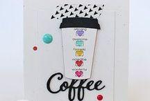 SugarCuts - Coffee To Go Cup / SugarPea Designs - SugarCuts Coffee To Go Cup die Inspiration Board