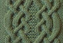 patterns / Knitting patterns /узоры для вязания спицами/