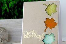 Lovely Leaves / SugarPea Designs - Lovely Leaves stamp & die set Inspiration Board