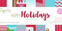 Happy Holidays - Patterned Paper Collection