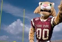 Everything TXState! / Texas State pins:apparel, graduation caps, and pictures of campus / by PACE Advising