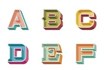 Graphic Design - Typography / Letters