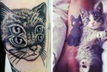 Cat Tattoos / Tattoos of cats