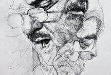 Sketches / Sketchbook, Drawing, Scribbles, Zeichnungen