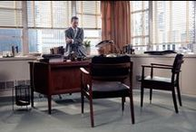 Mad Men & Mid-Century Modern / AMC's Mad Men has made the old new again by popularizing and romanticizing the trends of the 1960's in fashion and interior design. / by Parterre Flooring
