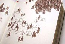 Sketchbook / sketch watercolour journal