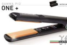Gamma Più Piastra One+ / Straightening reaches perfection!!! • Floating plates coated in Seracite: the straightener guaranteeing the best smoothing ever, making hair shiny • Perfect straightening already at the first pass: less stress on hair • State-of-the-art electronics, immediate heating with three-level temperature control: 340°F - 375°F - 410°F • Ideal for ringlets and curls