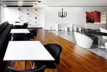 Wood Flooring Design in Offices / Office spaces that have an inspiring use of wood flooring design. / by Parterre Flooring