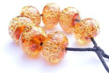Lampwork beads / Lampwork beads made by Sue Doran
