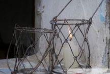 Svícny- ruční výroba / Svatba