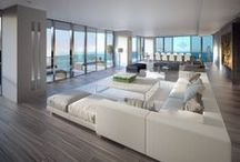 Luxury Apartments from Around the World / Our luxury apartment design board showcases some of the most lavish luxury apartments from around the world. / by Parterre Flooring