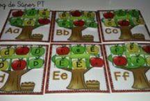 Fichas y hojas de trabajo para los peques :) / Fichas, cuadernillos, hojas de trabajo, regletas etc... / by Laura Ac