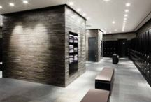 Locker Room Flooring / Our locker room flooring board is a collection of examples that have inspiring locker room flooring options which can be achieved with luxury vinyl tile. / by Parterre Flooring