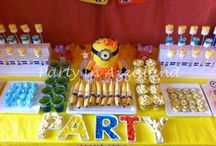 Minion Madness Party / Minion Madness for a very special little one who turned two years old!