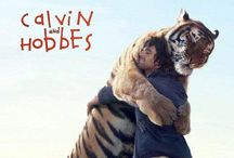 Calvin and Hobbes..