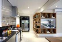 Cozinhas Planejadas / Várias idéias de cozinhas planejadas para você e sua família se inpirarem.