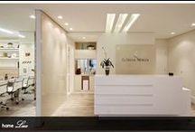 Decoração de clinicas, consultórios e salas comerciais