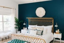 Bedroom Inspiration / Bedroom interiors