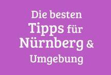 Nuernberg & Umgebung Tipps / Geheimtipps rund um unsere schöne Stadt und das angrenzende Frankenland, Ausflugsideen für Menschen mit und ohne Kindern, tolle Cafés und Restaurants und Orte, die man auch mit kleinem Budget besuchen kann.