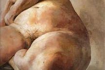 KörperKunst / Akt & Anatomie, Figuren & Posen, Körper, Körperform, Körperhaltung, Körperstudien, figürliches Zeichnen