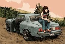 MY WORK / Drawings, illustrations and comics by Giorgia Marras