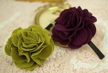 Naaien - broches en bloemen