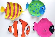 Arts & Crafts for Kids / Art projects for children and teachers