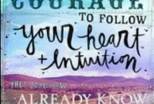 Quotes about intuition / by Francine Derks