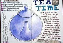 Tea Time / Nulla è più confortante di una tazza di te accompagnata da una coccola dolce