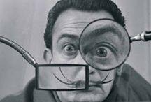 Salvador Dali / by ◎ e s p ★ r i t k ◎