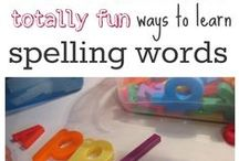 Spelling Activities / Ways to practice spelling words
